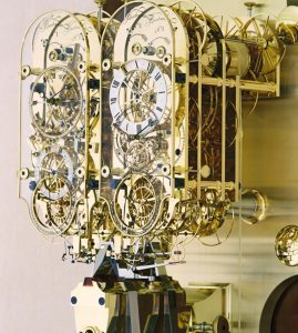 Clock Number 4 – Double Pendulum Wall Hanging Observatory Regulator 001