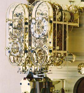 Clock Number 4 – Double Pendulum Wall Hanging Observatory Regulator 001