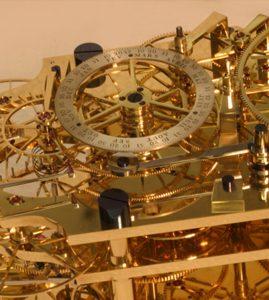 Clock Number 4 – Double Pendulum Wall Hanging Observatory Regulator 003